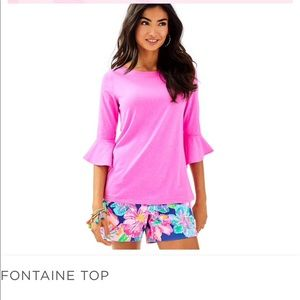 Lily Pulitzer Fontaine Top
